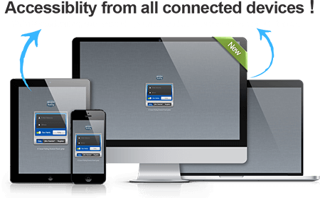 With Smartruling, you have all your network and pc's with you at all times