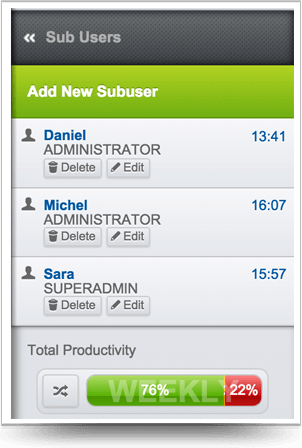 You can set new administrators as many as you want to your SmartRuling administration panel.